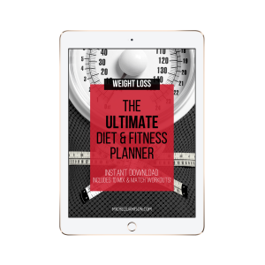 ULTIMATE DIET & FITNESS PLANNER WOO PROMO TABLET IMAGE 2019 | MICHELE JAMISON