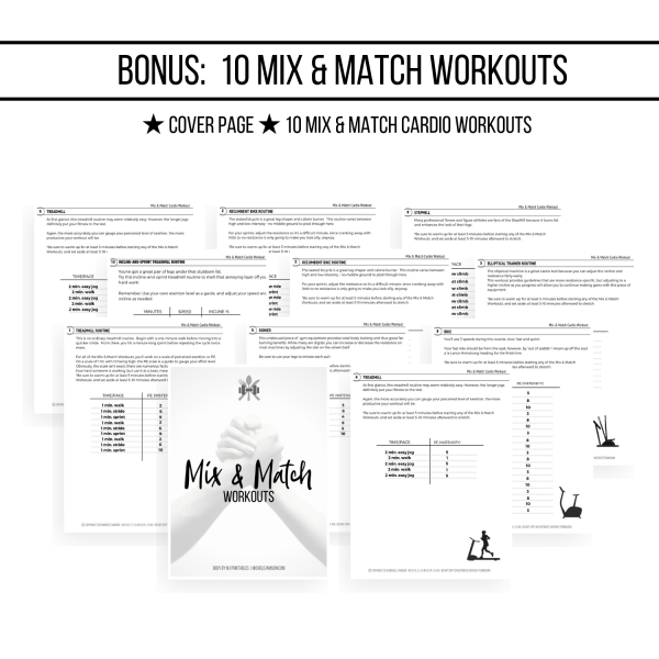 ULTIMATE D&F PLANNER 1ST EDITION WOO WORKOUTS IMAGE 2019 | MICHELE JAMISON