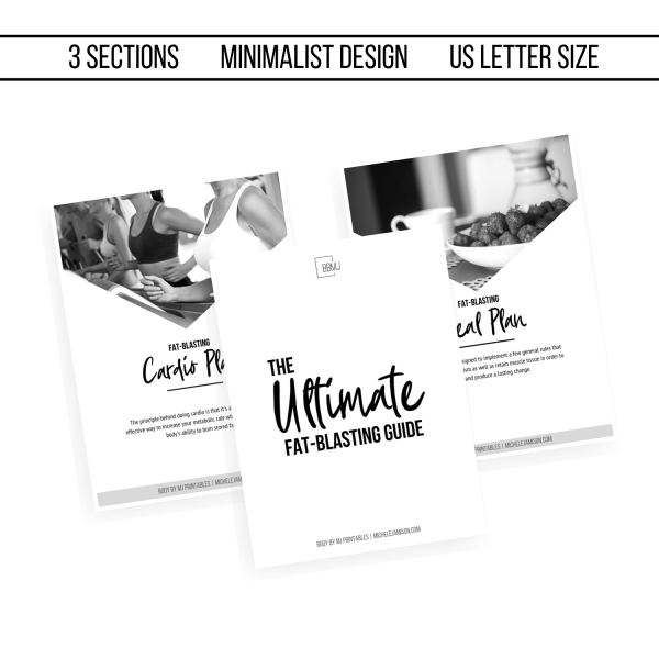 ULTIMATE FAT BLAST GUIDE 1ST EDITION WOO SECTIONS IMAGE 2019 | MICHELE JAMISON