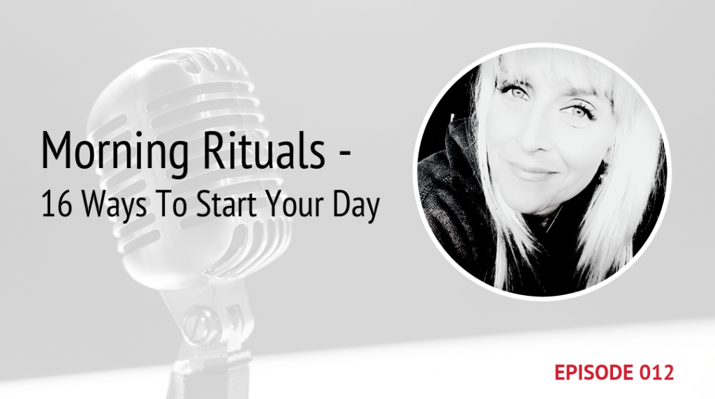 PODCAST IMAGE MORNING RITUALS EPISODE 12 | MICHELE JAMISON